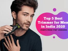 Best Hair trimmer for men in India 2020