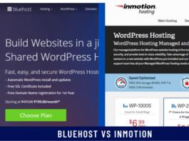 Bluehost vs inMotion